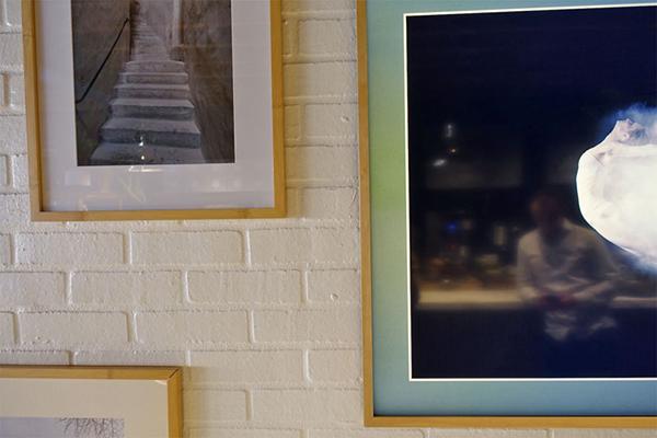 Samsung The Frame на стене