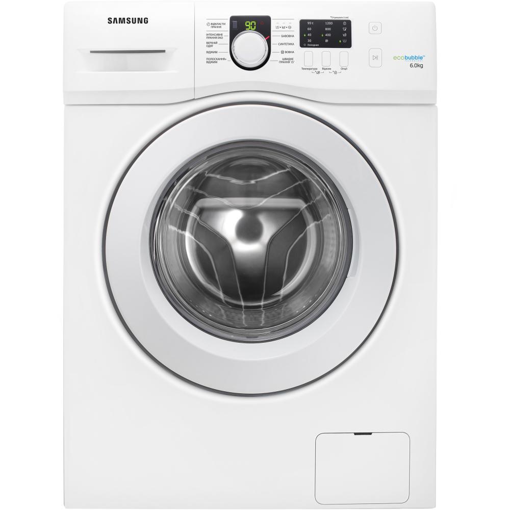 Функція Eco Bubble / Samsung WF60F1R0E2WDUA