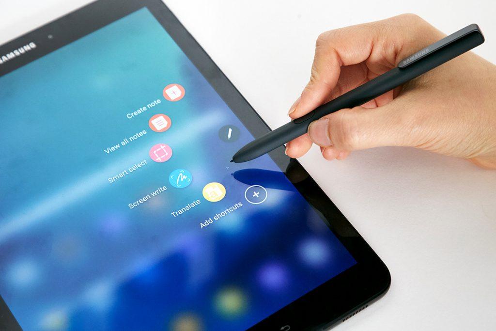 Стилус S Pen в Samsung Galaxy Tab S3