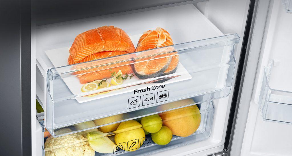 Зона свіжості в холодильнику Samsung RB 37 J5100SA