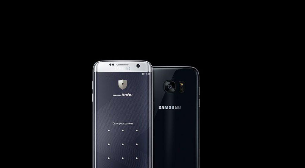 Захист даних за допомогою Knox / Samsung Galaxy S7