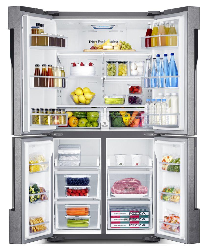 Система Triple Cooling / Samsung RF905QBLAXW