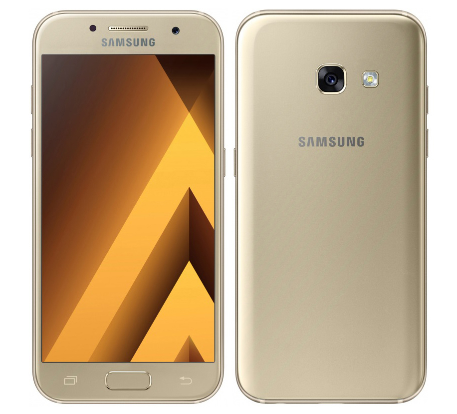 Экран Super AMOLED / Samsung Galaxy A5 2017