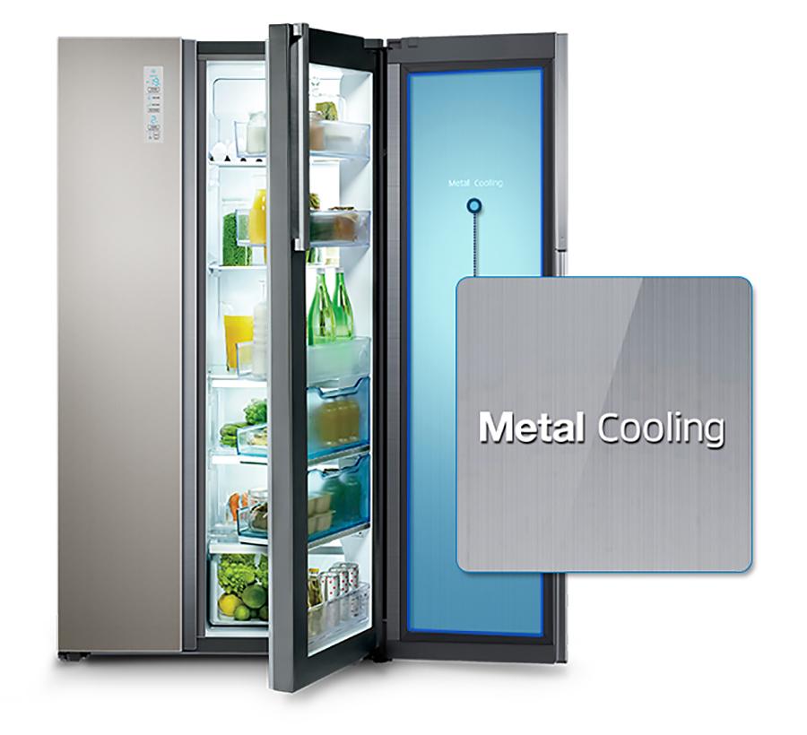 Технологія Metal Cooling / Samsung RH60H90207F