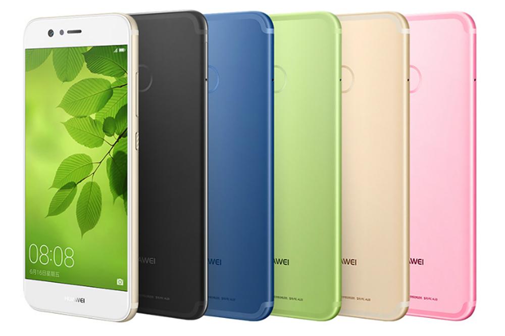 Huawei Nova в пяти цветах