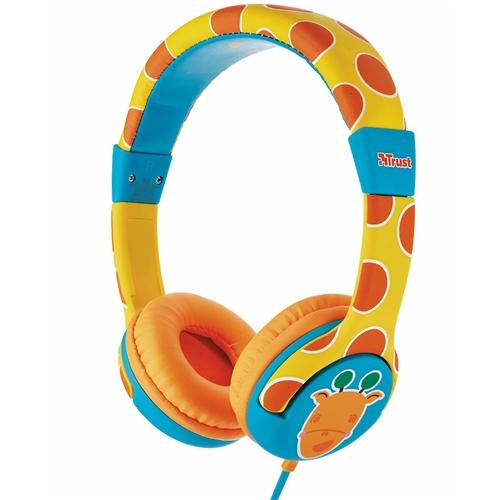 Яскраві дитячі навушники