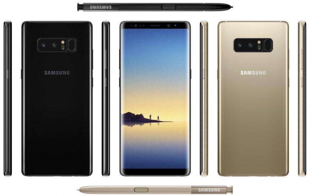 Смартфон Samsung Galaxy Note 8 зі стилусом