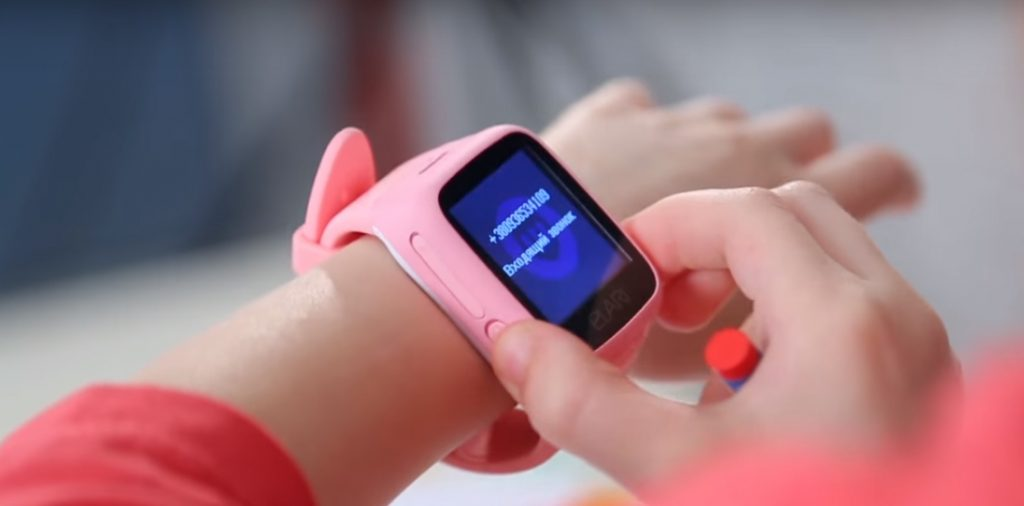 Дитячий смарт-годинник рожевий