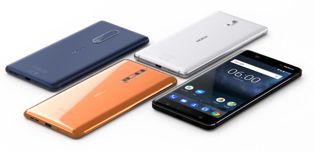 Смартфони Nokia 8