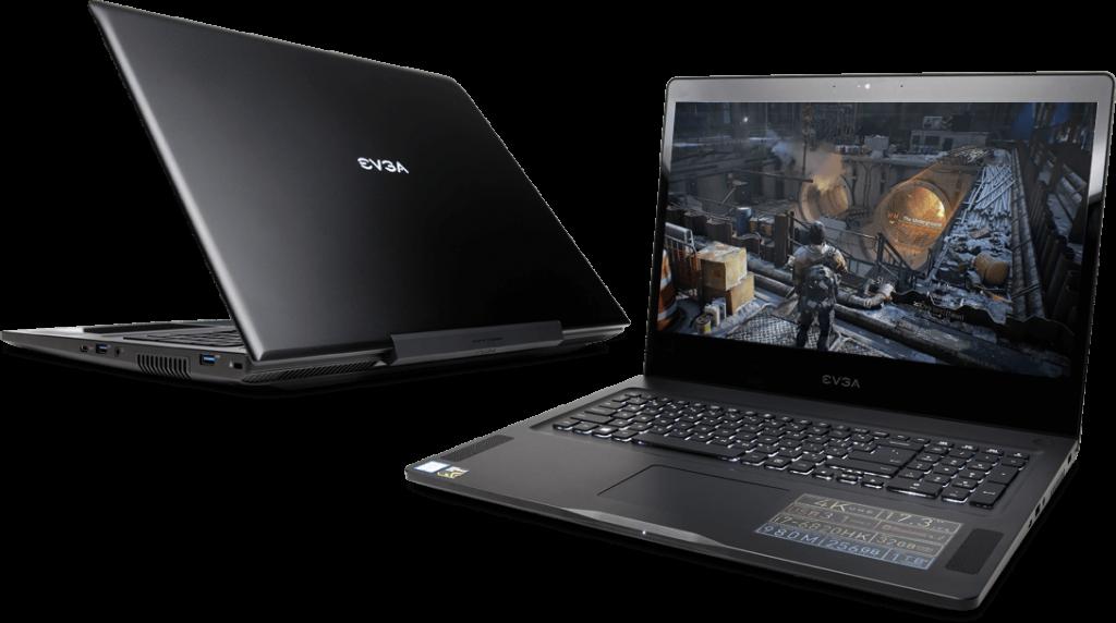 Ігровий ноутбук EVGA