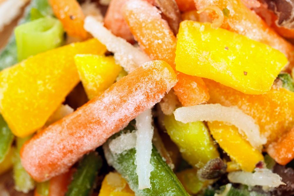 Заморожені овочі