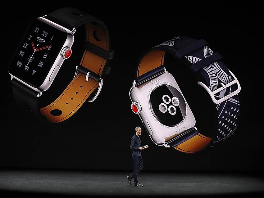 Демонстрація Apple Watch Series 3