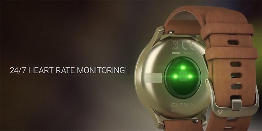 Garmin vívomove HR - датчик моніторингу серцевого ритму