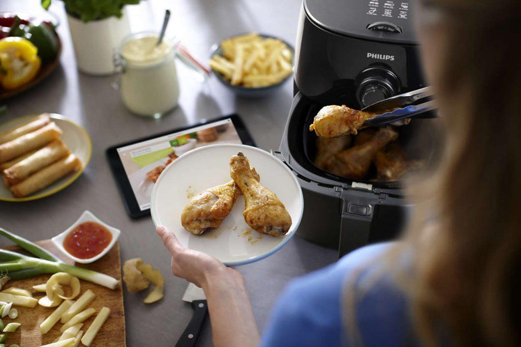 Приготування їжі з Philips HD9621