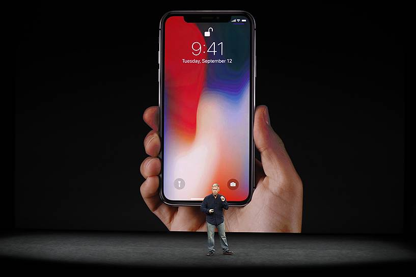 Зовнішній вигляд IPhone X