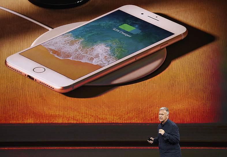 Бездротова зарядка IPhone X