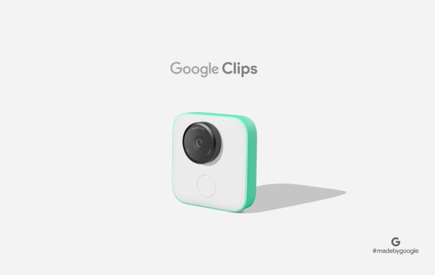 Камера Google Clips