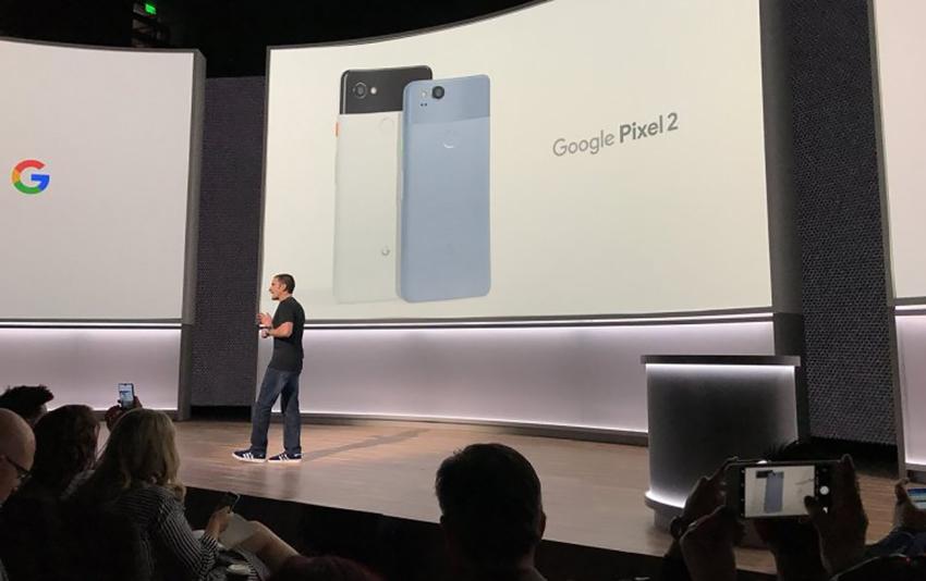Презентація Google Pixel 2 і Google Pixel 2 XL