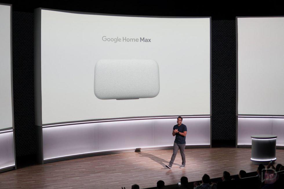 Презентація Google Home Max
