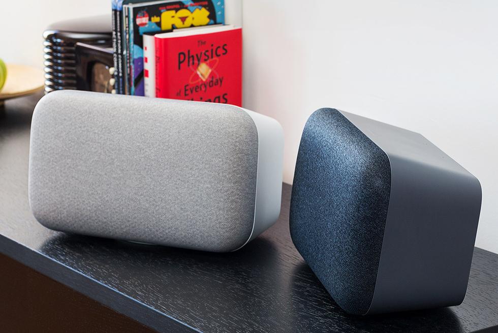 Google Home Max в інтер'єрі