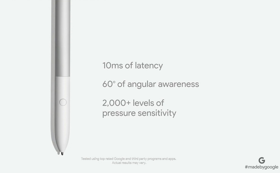 Характеристики Google Pixelbook Pen