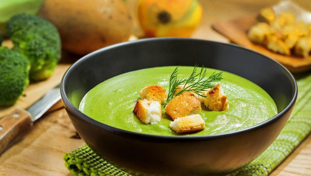 Суп-пюре з кабачків