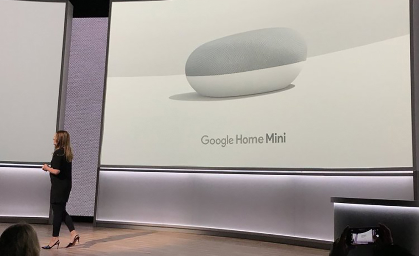 Розумна колонка Google Home Mini