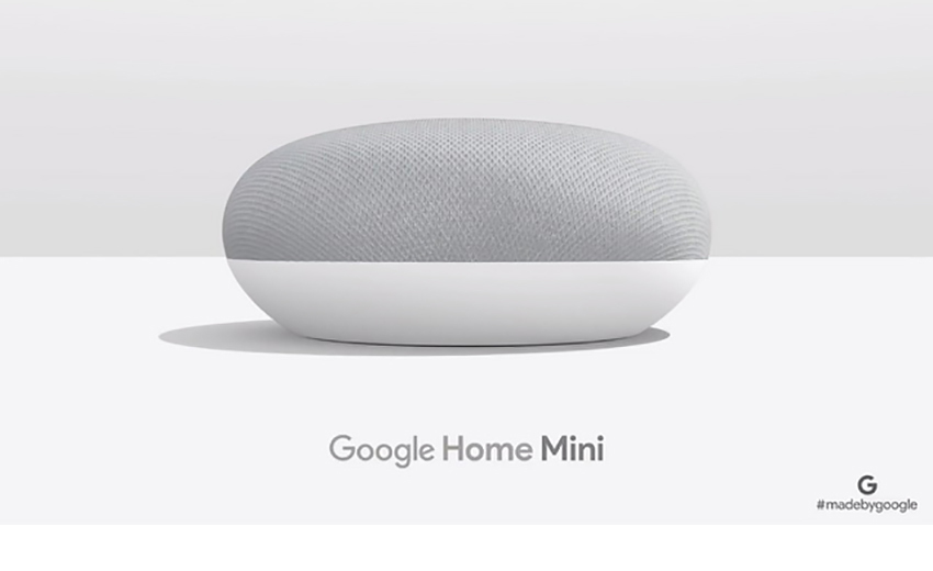 Умная колонка GoПрезентація Google Home Miniogle Home Mini