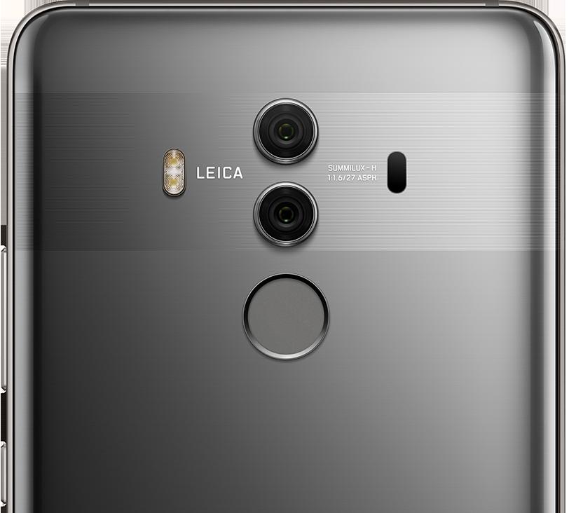 Камера Leica і сканер відбитка ззаду
