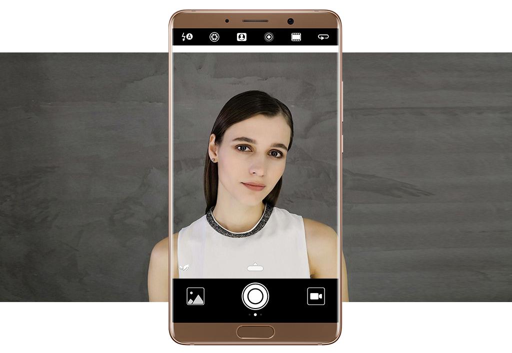 Селфі за допомогою Huawei Mate 10