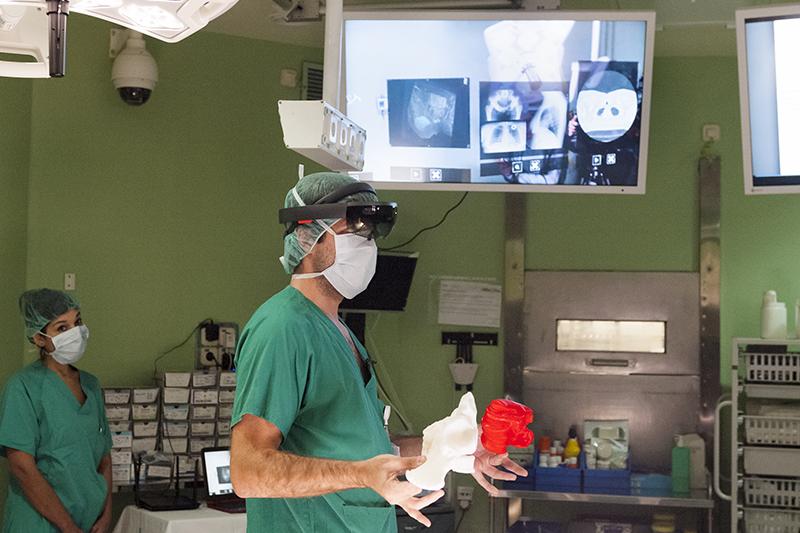 Microsoft HoloLens і хірурги