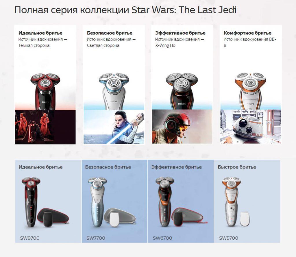 Полная серия коллекции Star Wars: The Last Jedi