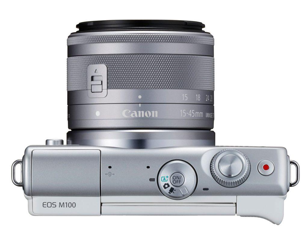 Безлзеркальна камера Canon EOS M100