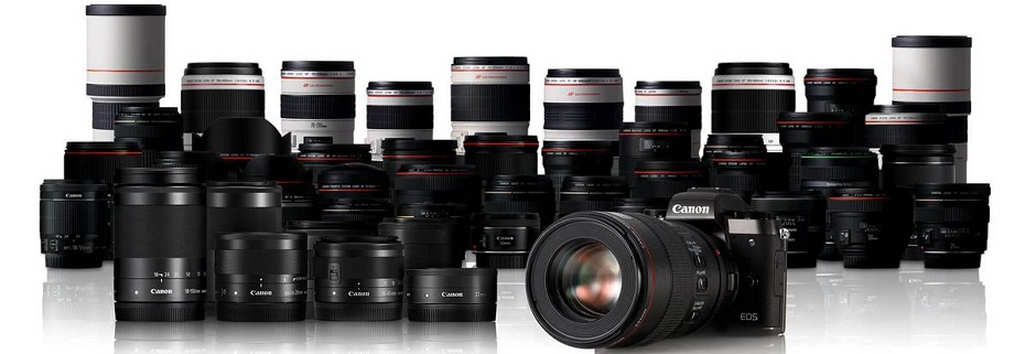 Бездзеркальні камери Canon