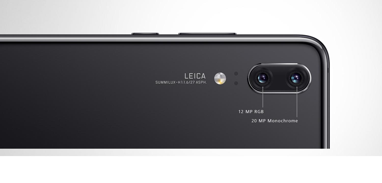 Подвійна камера Leica на Huawei P20