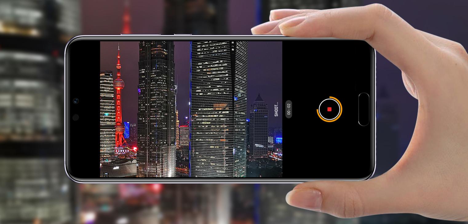 Відео Huawei P20