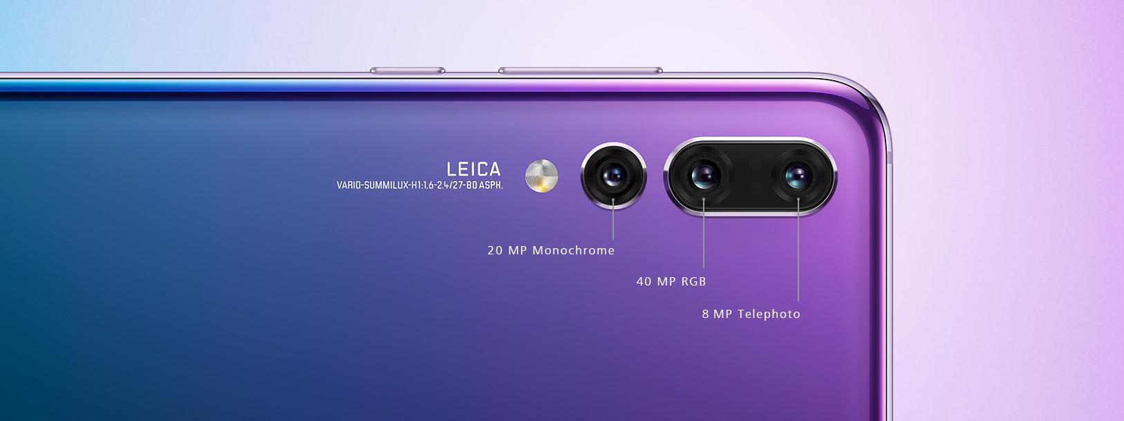 Камера смартфона Huawei P20 Pro