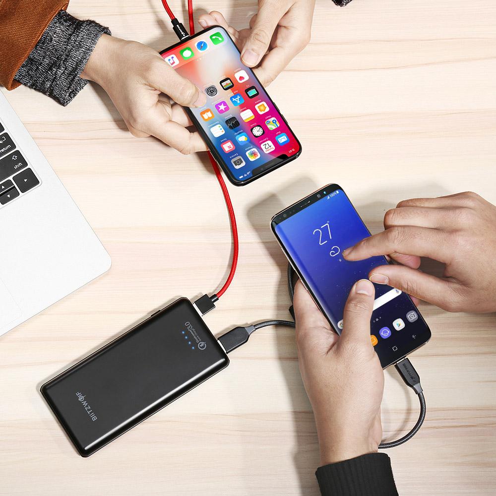 Зарядка смартфонов через Powerbank