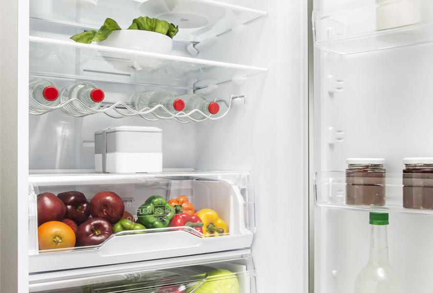 Розташування Flexi Use Box в холодильнику