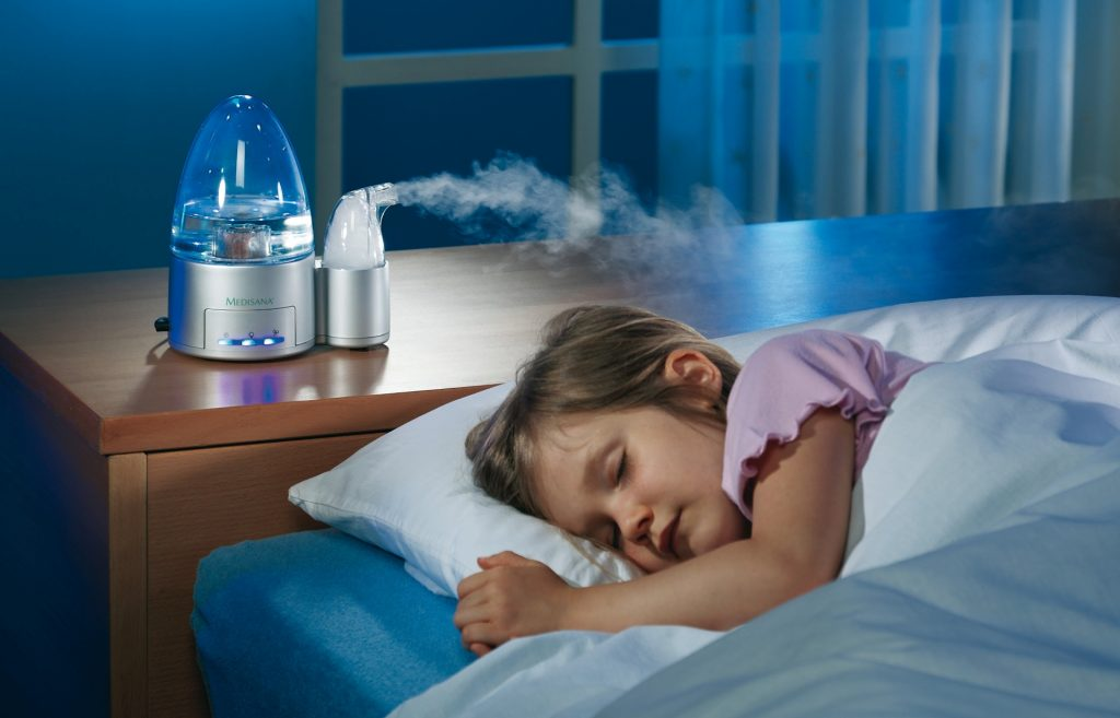 Зволожувач повітря в дитячій кімнаті