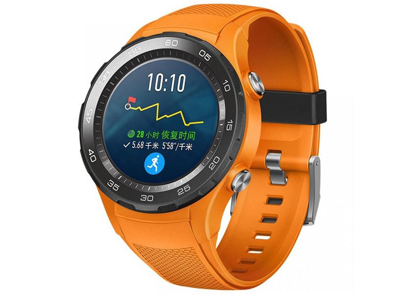 Помаранчевий Huawei Watch 2