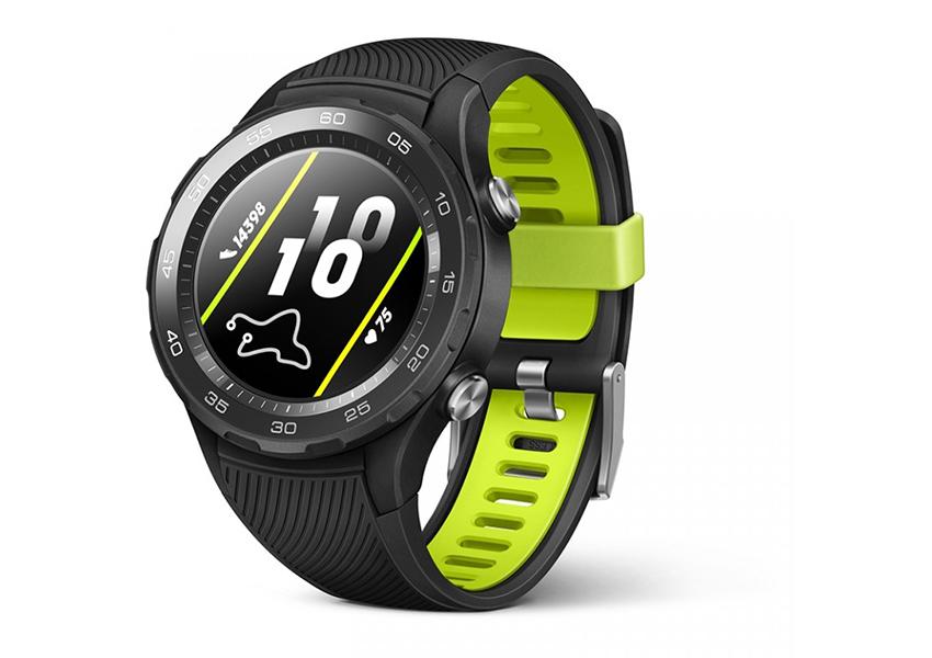 Салатовий Huawei Watch 2