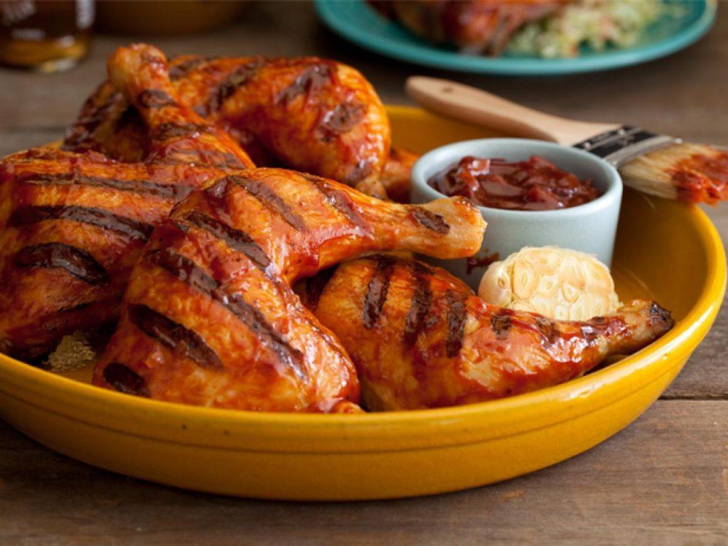 Маринад для курицы из соевого соуса и яблочного сока
