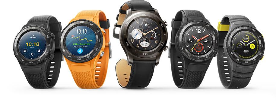 Фото всех Huawei Watch 2