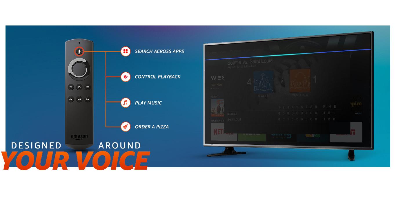 Fire TV Cube функції і управління