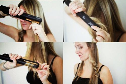 Как правильно завивать волосы с помощью утюжка