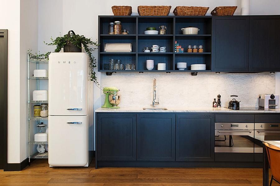 Холодильник в прованському стилі