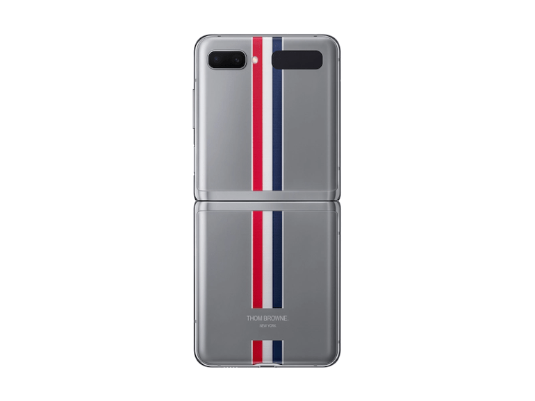 Фото Galaxy Z Flip Thom Browne Edition