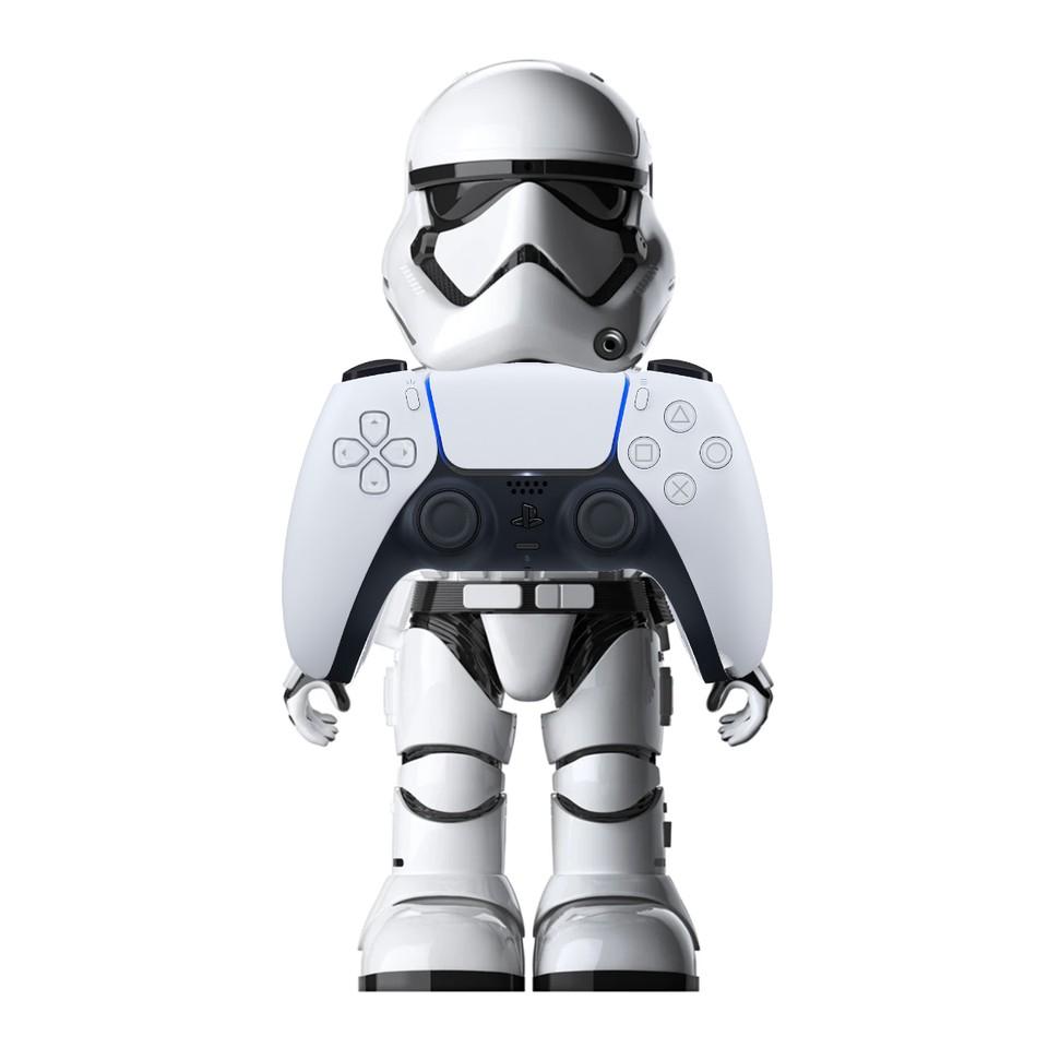 Мем про DualSense – Star Wars