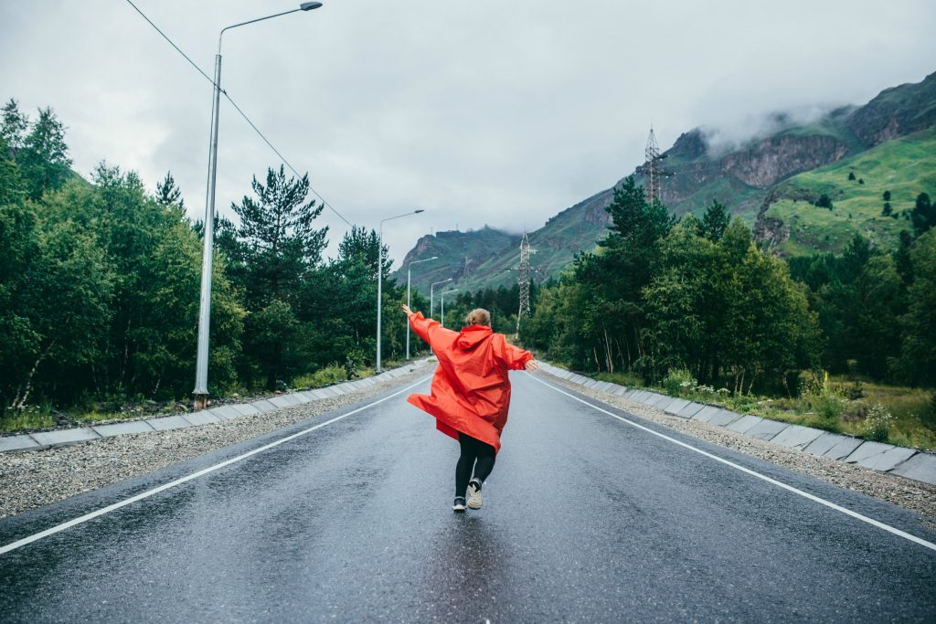 Дощ у горах